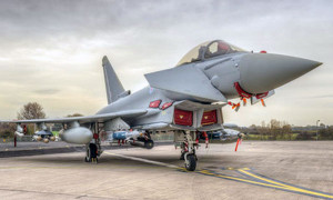 Typhoon fitted with Brimstone missile for the first time