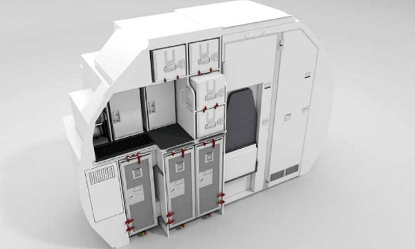"Airbus and Zodiac Aerospace launch ""Space-Flex v2"" cabin option"