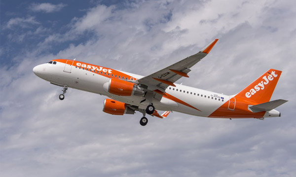 easyJet orders an additional 36 A320 Family aircraft