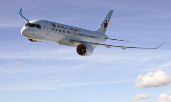 Air Canada and Bombardier sign a landmark order for up to 75 Bombardier C Series aircraft