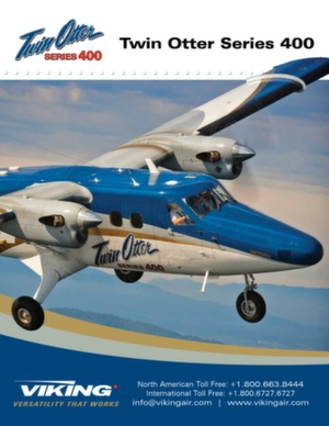Twin Otter 400 series brochure