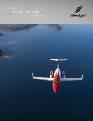 HondaJet Flight Ready Service Plans
