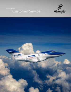 Hondajet Customer Service