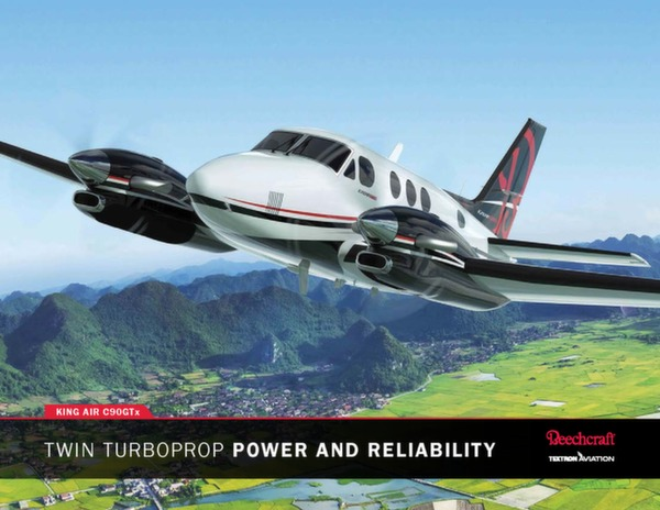 BEECHCRAFT King Air C90GTx - technical data